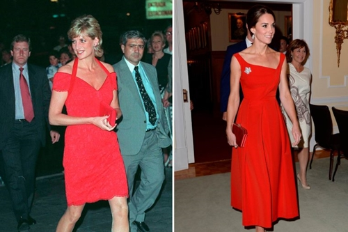 Công nương Kate ngày càng mặc giống mẹ chồng Diana - 11