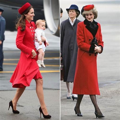 Công nương Kate ngày càng mặc giống mẹ chồng Diana - 6