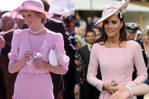Công nương Kate ngày càng mặc giống mẹ chồng Diana - 9