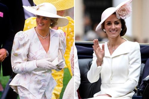 Công nương Kate ngày càng mặc giống mẹ chồng Diana - 10