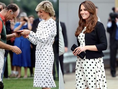 Công nương Kate ngày càng mặc giống mẹ chồng Diana - 13