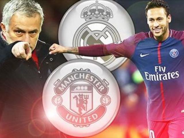MU gây sốc tranh Neymar với Real: Thế lực cực khủng trợ chiến