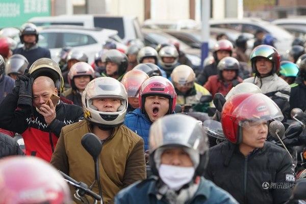 Cuộc trường chinh của 3 triệu xe máy TQ về ăn Tết - 4