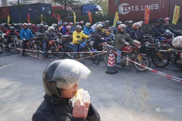 Cuộc trường chinh của 3 triệu xe máy TQ về ăn Tết - 3