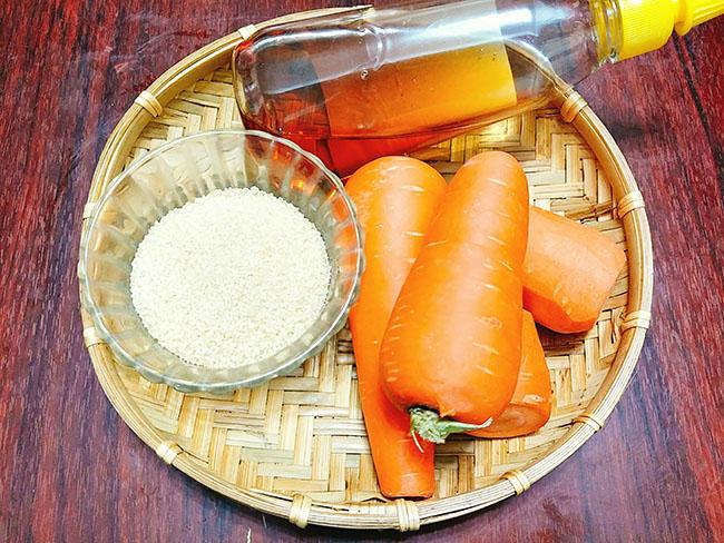 Mứt cà rốt bọc dừa xinh yêu ngọt ngào mọi người đều thích - 2