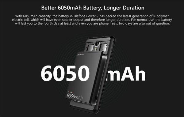 48 giờ cuối xả kho smartphone pin 6.050mAh,Ram 4G, Rom 64G giá cực sốc - 2