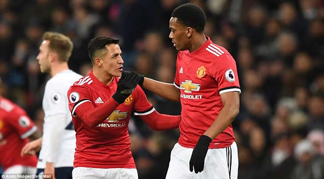 Image result for paul pogba sanchez and martial