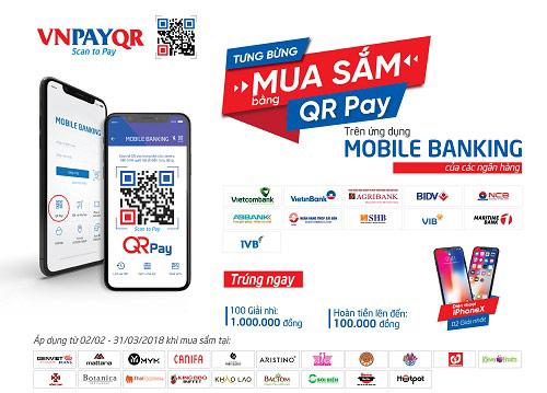 Nhận 100.000 đồng khi trải nghiệm QR Pay trên Mobile Banking - 1