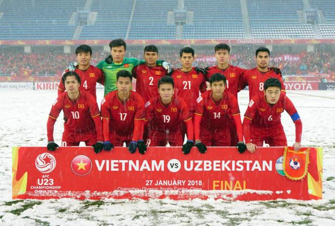 """U23 VN: Công Phượng khoe kỹ năng độc, Duy Mạnh khiến Văn Hậu """"ngượng chín"""" - 1"""