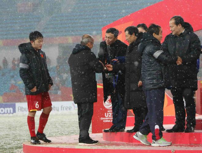 HLV Park Hang Seo: U23 Việt Nam hụt Vàng châu Á không phải do trời tuyết - 2