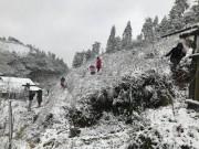 Tin tức trong ngày - Miền Bắc tiếp tục rét đậm, rét hại dài ngày, vùng núi cao có băng giá