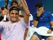 Tin thể thao HOT 2/2: Federer lưỡng lự cơ hội soán ngôi số 1 của Nadal