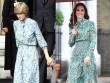 Công nương Kate ngày càng mặc giống mẹ chồng Diana
