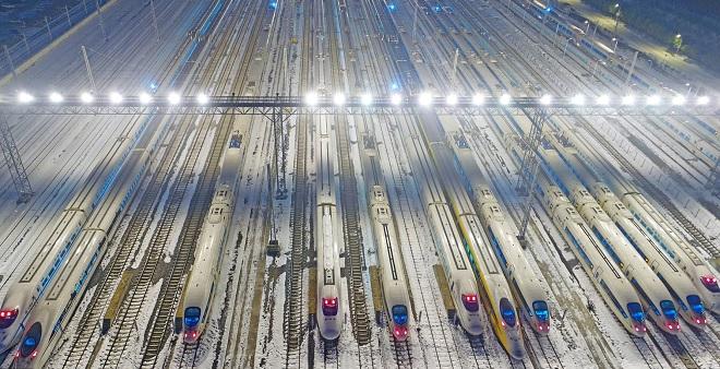 Cận cảnh tàu siêu tốc TQ chở 400 triệu người về ăn Tết - 6