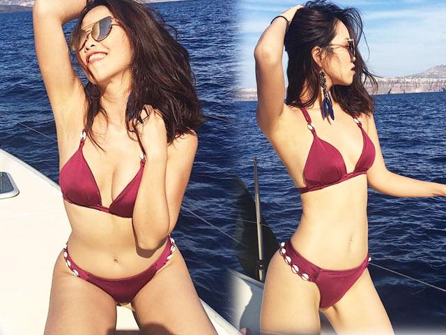 Em gái Hà Anh hay Mai Phương Thúy mặc bikini nóng bỏng nhất? - 1
