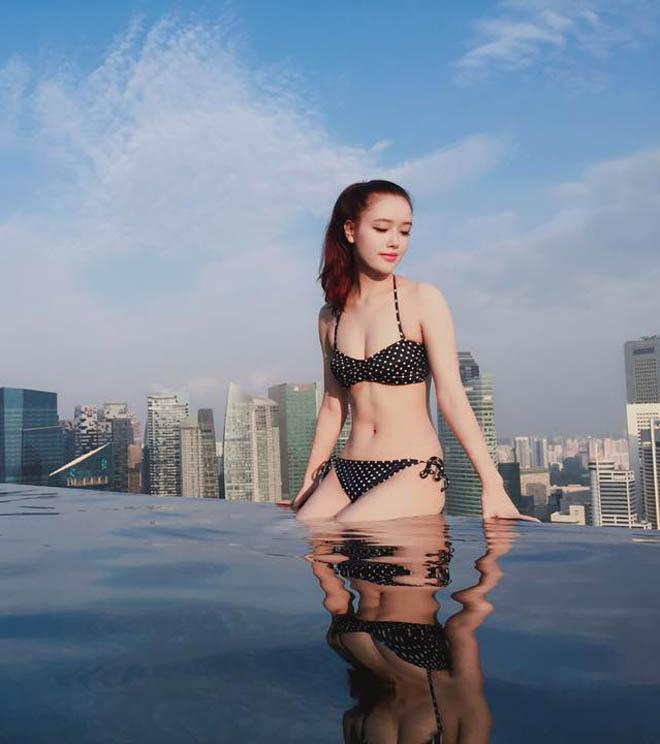 Em gái Hà Anh hay Mai Phương Thúy mặc bikini nóng bỏng nhất? - 8