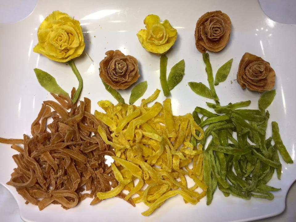 Cách làm mứt khoai tây hoa hồng đẹp mắt, dẻo ngon cho ngày Tết - 2