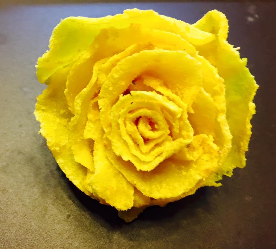 Cách làm mứt khoai tây hoa hồng đẹp mắt, dẻo ngon cho ngày Tết - 11