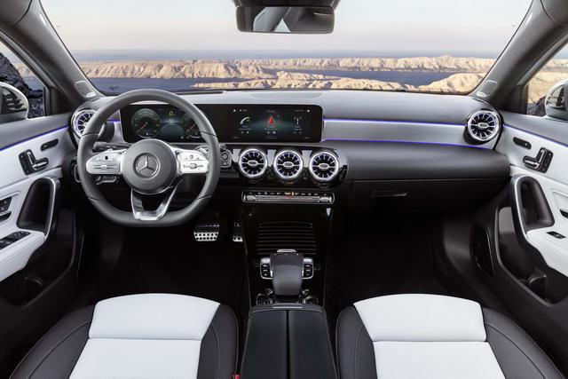 Mercedes A-Class 2019 hoàn toàn mới ra mắt - 4