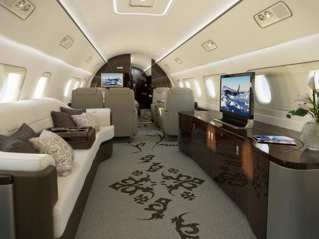 Bên trong 7 máy bay tư nhân đắt giá nhất trên thế giới - 9
