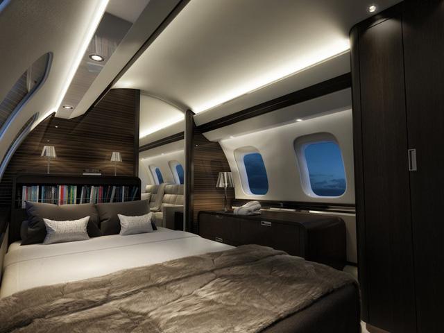 Bên trong 7 máy bay tư nhân đắt giá nhất trên thế giới - 7
