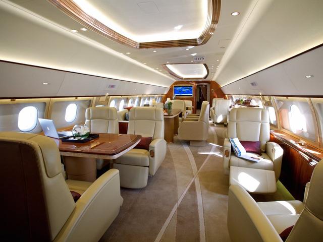 Bên trong 7 máy bay tư nhân đắt giá nhất trên thế giới - 11