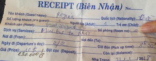 Trả tiền xe thay cho khách nước ngoài để giữ hình ảnh Việt Nam - 1