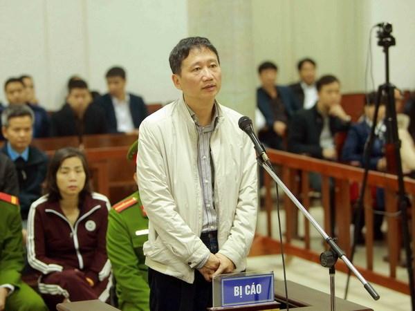 Trịnh Xuân Thanh nói mong khi chết được trong vòng tay vợ con - 1