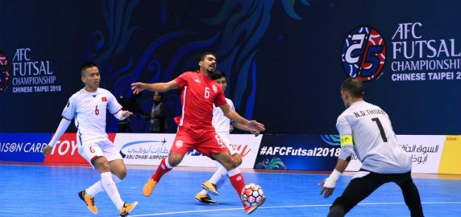 """ĐT futsal Việt Nam - Bahrain: """"Mồi ngon"""" Tây Á, kì tích U23 Việt Nam lặp lại (Giải châu Á) - 1"""