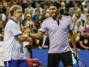 """Thể thao - Lập kỉ lục ấn tượng, Federer bắt tỷ phú mệt phờ râu, phải """"móc ví"""""""