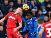 Leicester - Swansea: Tướng mới mát tay, 7 trận bất bại
