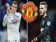 """Bóng đá - Chuyển nhượng MU: Mourinho dùng De Gea """"câu""""Gareth Bale"""