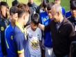 2 điều thầy Park dặn học viên nhí ở Học viện bóng đá HAGL