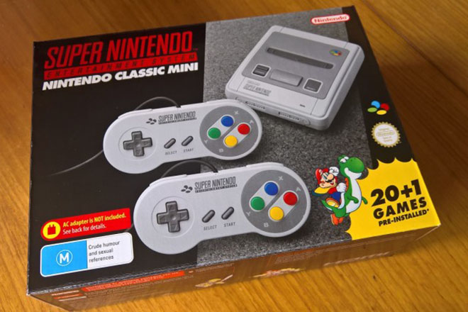Nintendo đã bán được 4 triệu SNES Classic trên toàn thế giới - 1