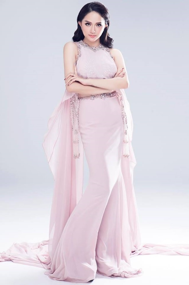 Hương Giang Idol giảm 5kg trong suốt vòng 5 ngày chuẩn bị cho Hoa hậu hĩnh Chuyển giới 2018 - 1