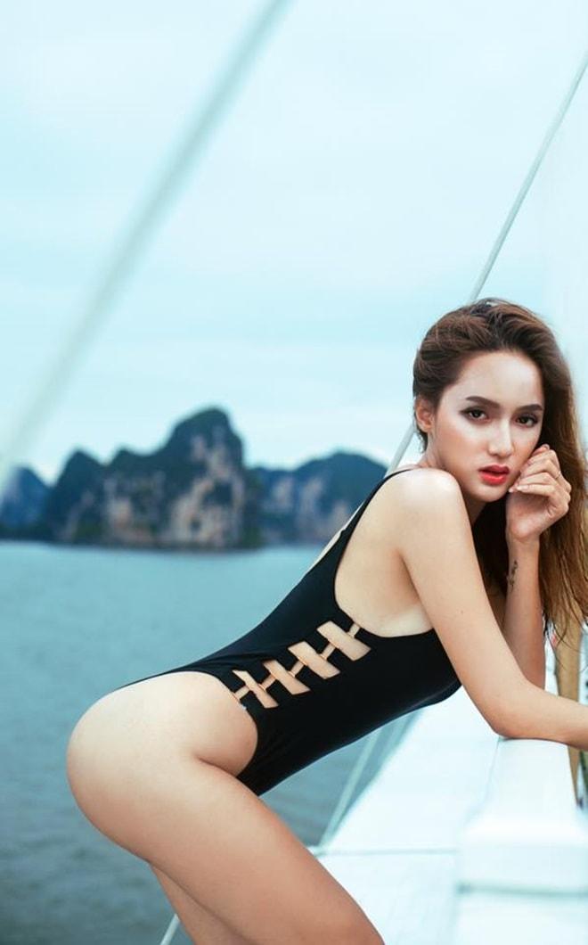 Hương Giang Idol giảm 5kg trong suốt vòng 5 ngày chuẩn bị cho Hoa hậu hĩnh Chuyển giới 2018 - 2