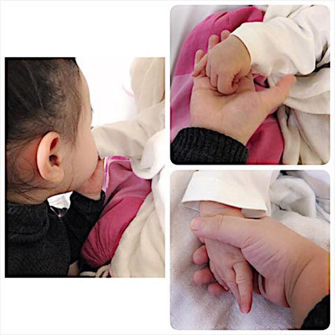 Diễn viên Trang Nhung sinh con trai nặng gần 4kg - 1
