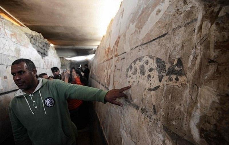 Đột nhập hầm bí mật 4.400 năm trong kim tự tháp Ai Cập - 2