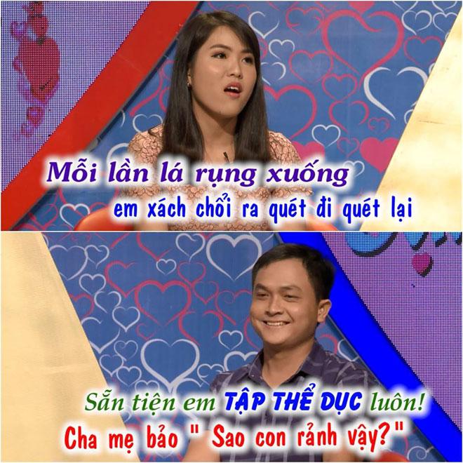 """Cô hàng xóm của MC Quyền Linh """"gây sốt"""" Bạn muốn hẹn hò - 4"""