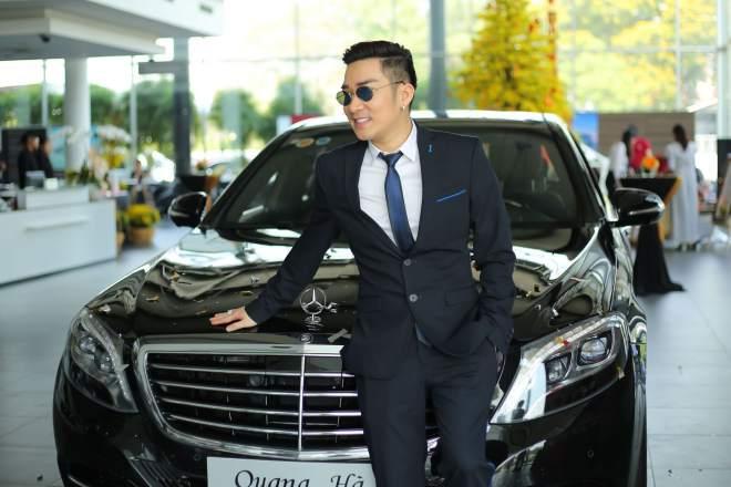 Cận cảnh xe sang gần 8 tỷ đồng của nam ca sĩ Quang Hà - 8