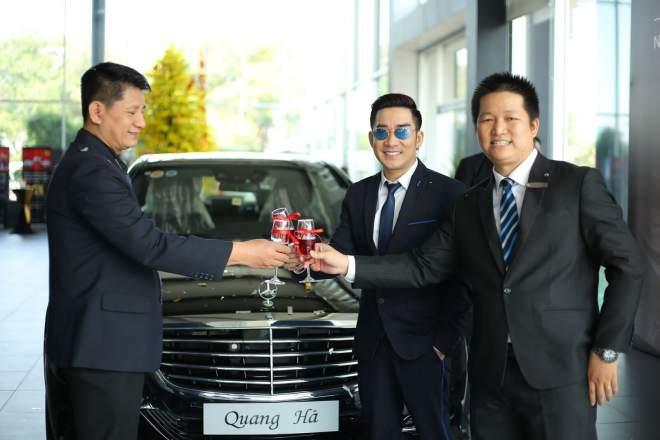 Cận cảnh xe sang gần 8 tỷ đồng của nam ca sĩ Quang Hà - 2