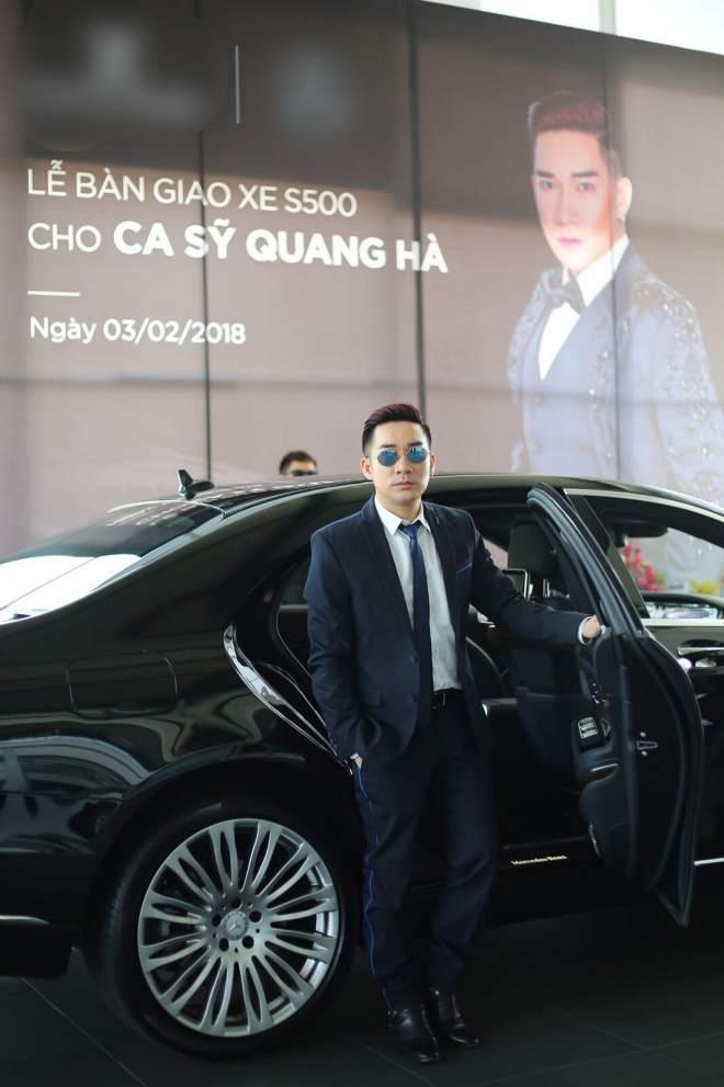 Cận cảnh xe sang gần 8 tỷ đồng của nam ca sĩ Quang Hà - 7