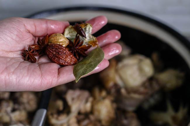 Miến gà nấm hương thơm lừng, ấm lòng ngày đông giá rét - 4