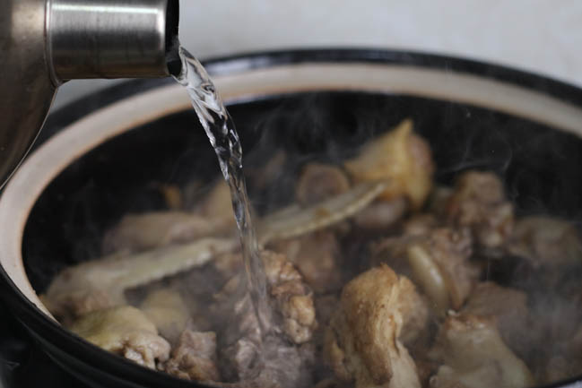 Miến gà nấm hương thơm lừng, ấm lòng ngày đông giá rét - 5