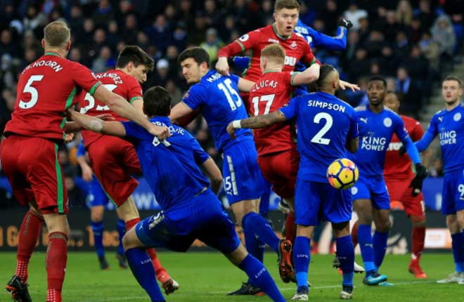 Leicester - Swansea: Tướng mới mát tay, 7 trận bất bại - 1