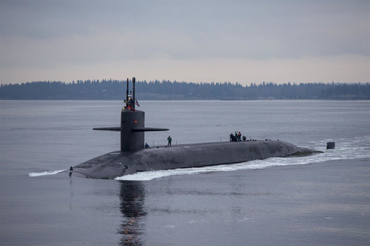 Hé lộ tàu ngầm Mỹ có thể hủy diệt Triều Tiên - 1