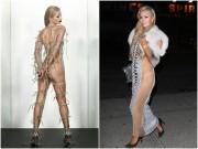Thời trang - Paris Hilton bị chỉ trích vì khoe thân quá đà