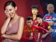 Tóc Tiên hờn dỗi vì không được chụp ảnh cùng U23 Việt Nam