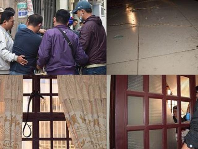 Tên cướp gài điện,tử thủ trong nhà dân ở quận Tân Bình