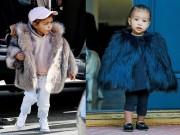 """Thời trang - Choáng với tủ đồ hiệu giá """"khủng"""" của con gái Kim """"siêu vòng 3"""""""